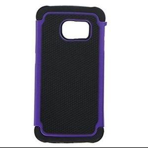 Samsung Galaxy S6 Armored Case, Purple